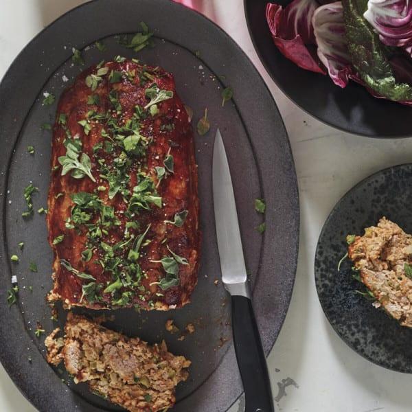 Photo of Turkey–bell pepper meatloaf by WW