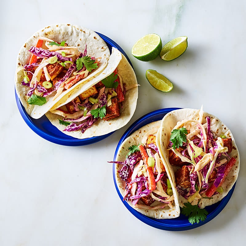 Photo de Tacos au tofu croustillant par WW