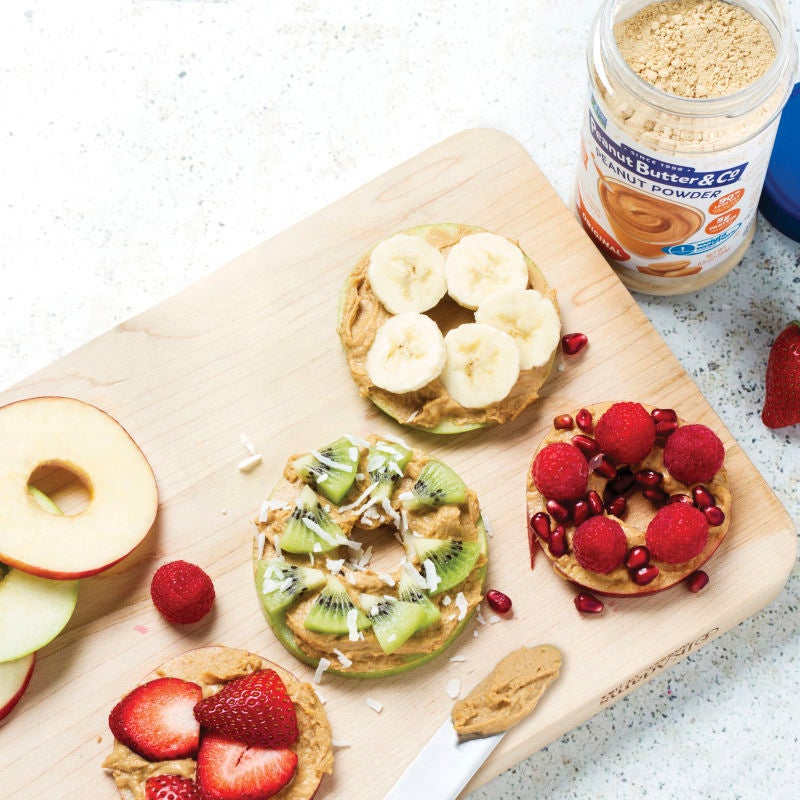 Photo of Peanut butter & apple snack rings by WW