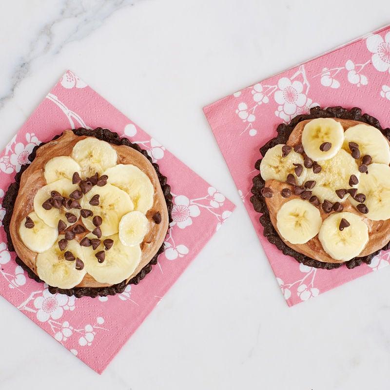 Photo de Tartelettes au chocolat et au beurre d'arachide sur pizzelle par WW