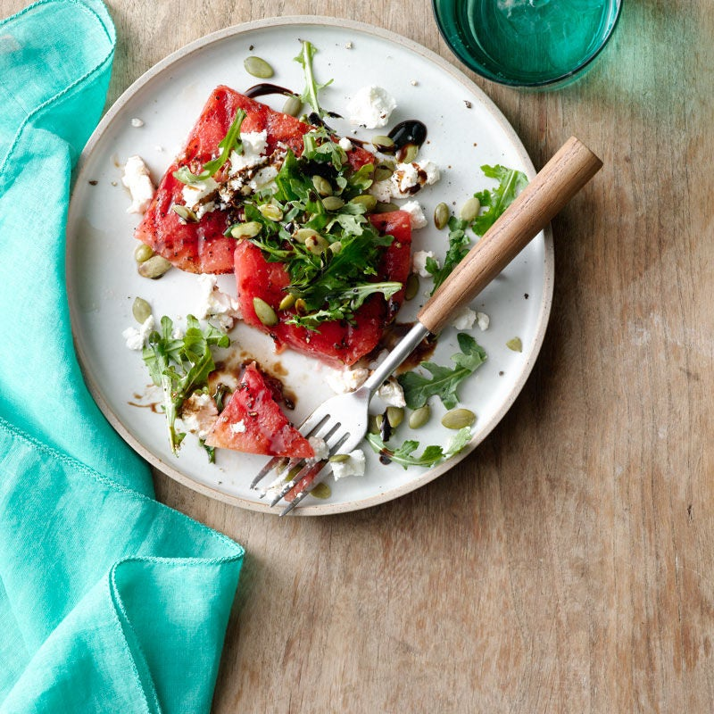 Photo of Grilled Watermelon and Goat Cheese Salad by WW