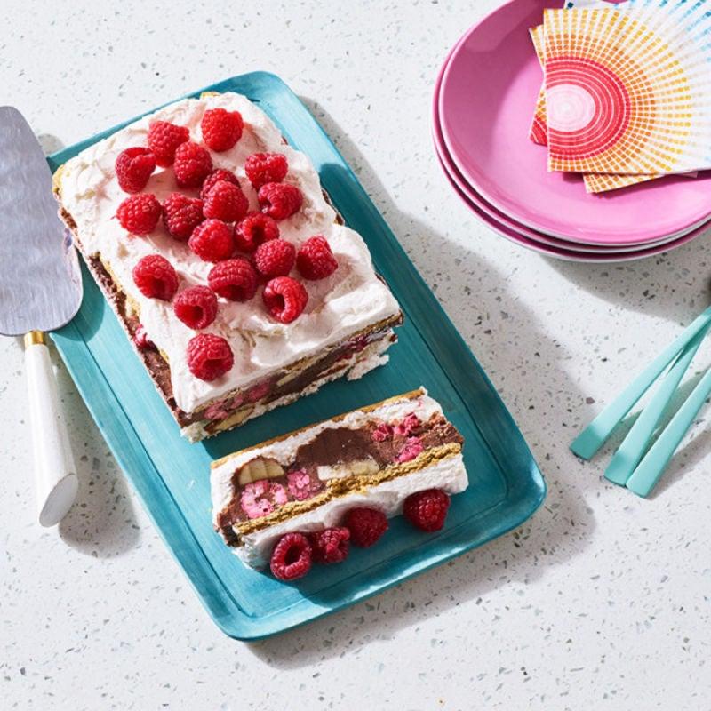 Photo de Gâteau à la crème glacée au fondant au chocolat par WW