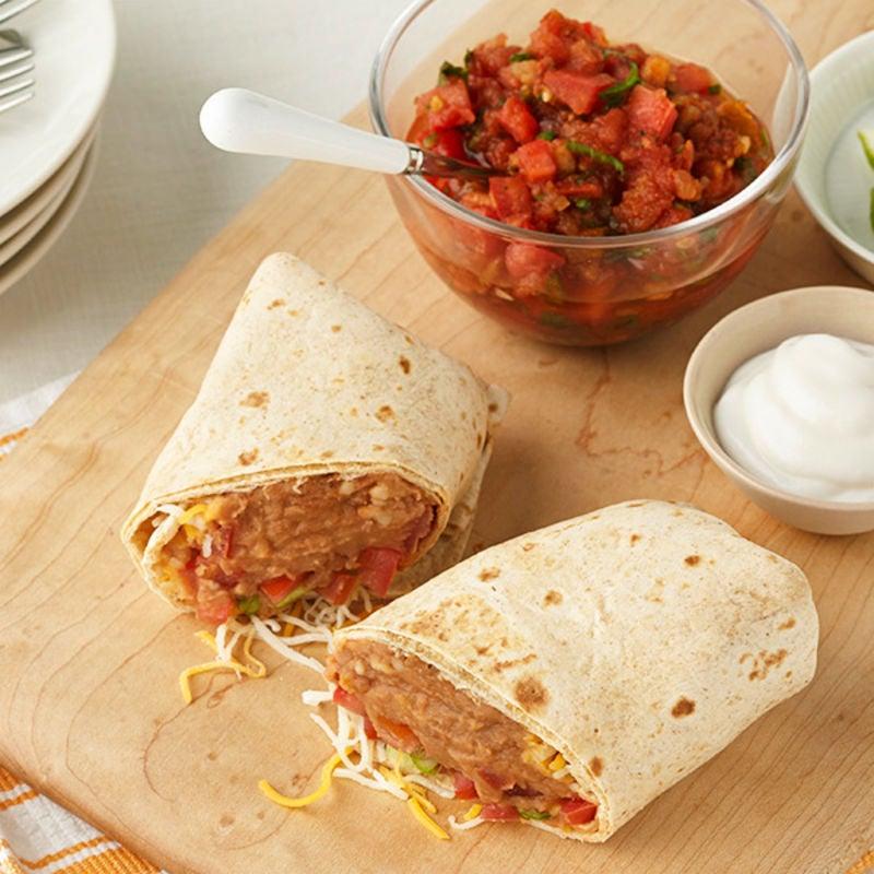 Photo de Burrito aux haricots frits par WW