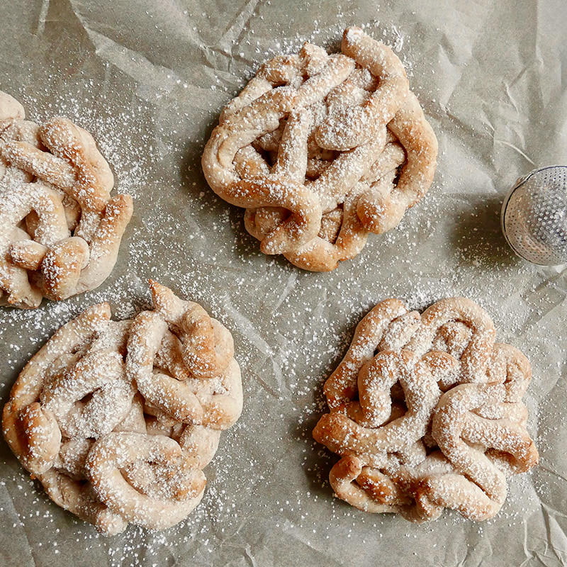 Photo de Funnel cakes (beignets plats) frits à l'air par WW