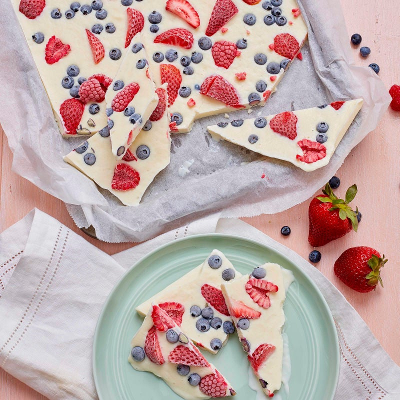 Photo of Fresh fruit yogurt bark by WW