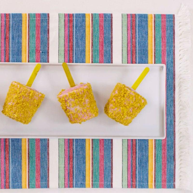 Photo de Popsicles au gâteau sablé et aux framboises par WW