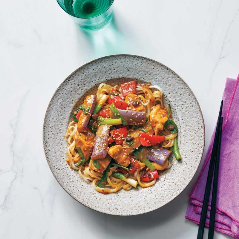 Photo of Chicken with silky eggplant in black bean sauce by WW