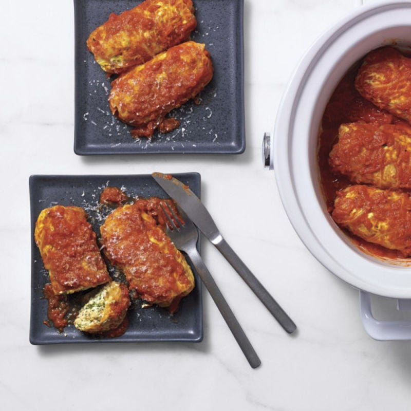 Photo of Ricotta-and-spinach stuffed cabbage by WW