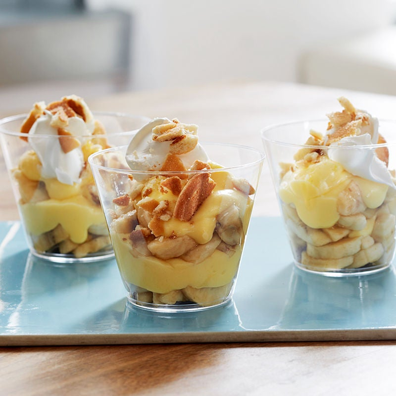 Photo de Parfaits de pouding à la banane par WW