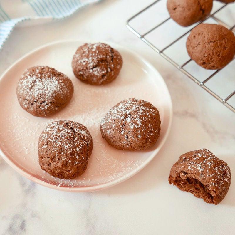 Photo de Biscuits au fondant au chocolat par WW