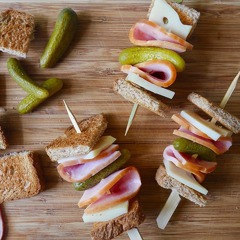 Photo de Kébabs de sandwich cubain par WW