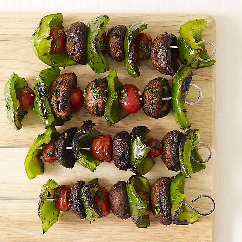 Photo de Brochettes de légumes grillés par WW