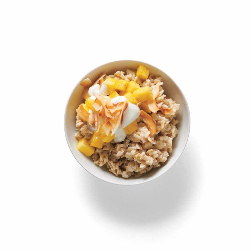 Photo of Pineapple-coconut topping (for oatmeal) by WW