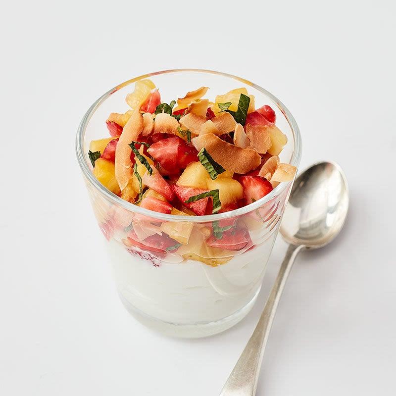 Photo of Sweet Pineapple & Strawberry Salsa with Yogurt by WW