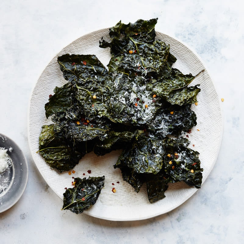 Photo of Cheesy kale crisps by WW