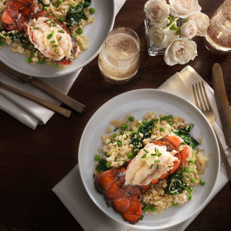 Photo of Cauliflower 'Risotto' with Lobster Tail by WW