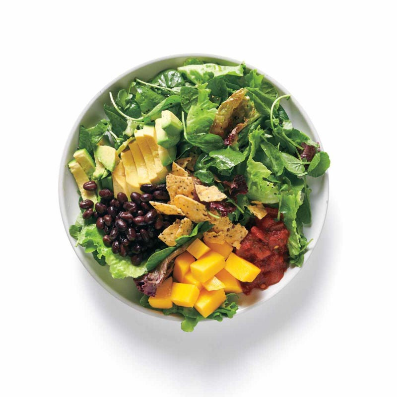 Photo of Southwest with mango topping (for salad) by WW