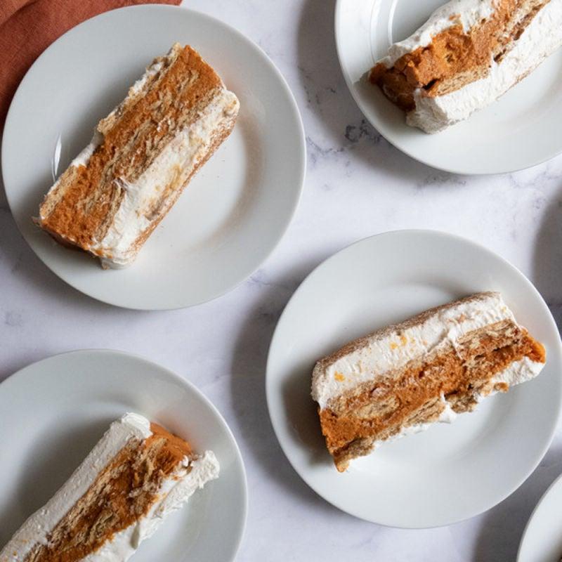 Photo de Gâteau froid à la citrouille et aux épices par WW