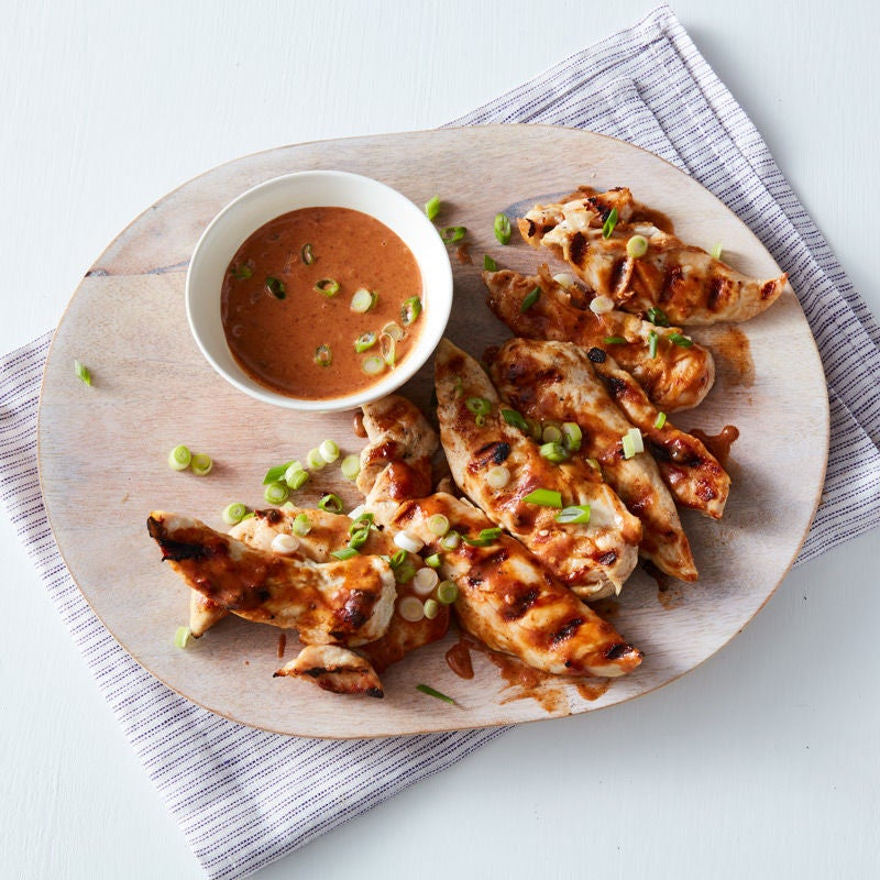 Photo of Peanut chipotle BBQ chicken tenders by WW