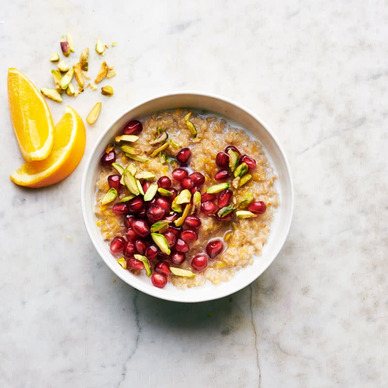 Photo of Irish Steel-Cut Oats with Pomegranate & Pistachios by WW