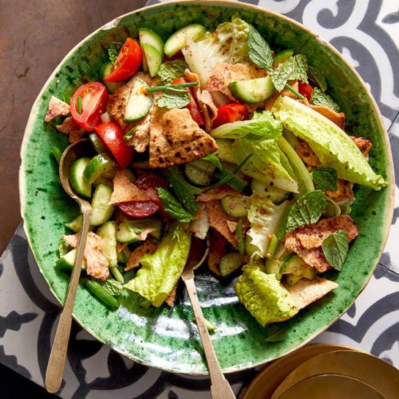 Photo de Salade fattouche par WW