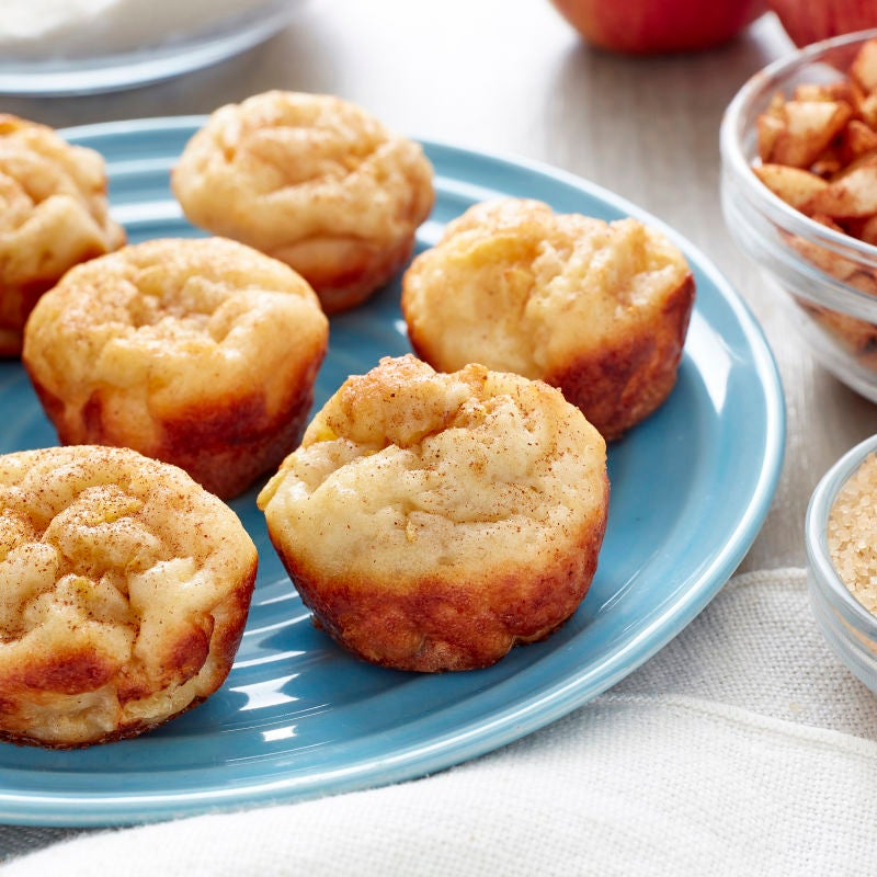 Photo of Mini Apple Cinnamon French Toast Bites by WW