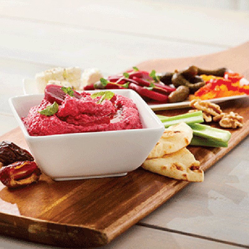 Photo of Plant based beet and tahini dip - vegan by WW