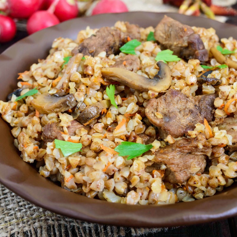 Photo of Slow cooker chicken with mushrooms and barley by WW
