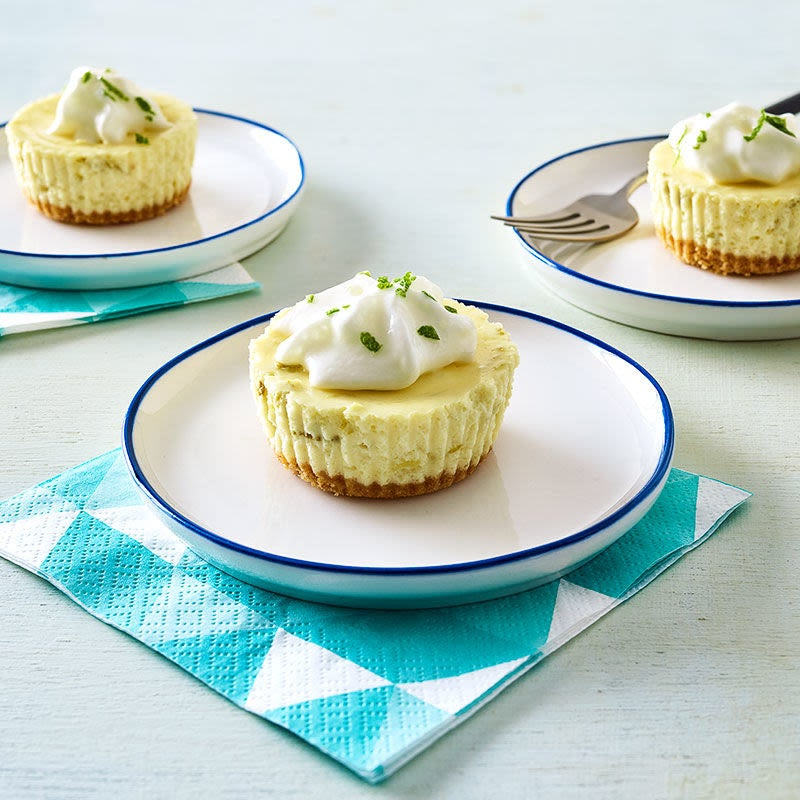 Photo of Mini Key Lime Cheesecakes by WW