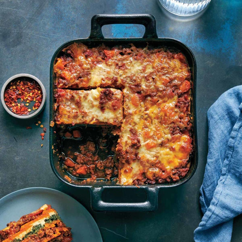 Photo of Sweet potato lasagna with turkey and sage by WW