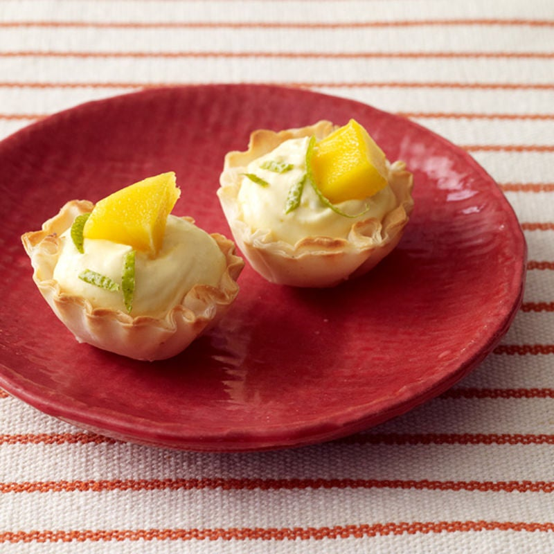 Photo of Tropical cheesecake tarts by WW
