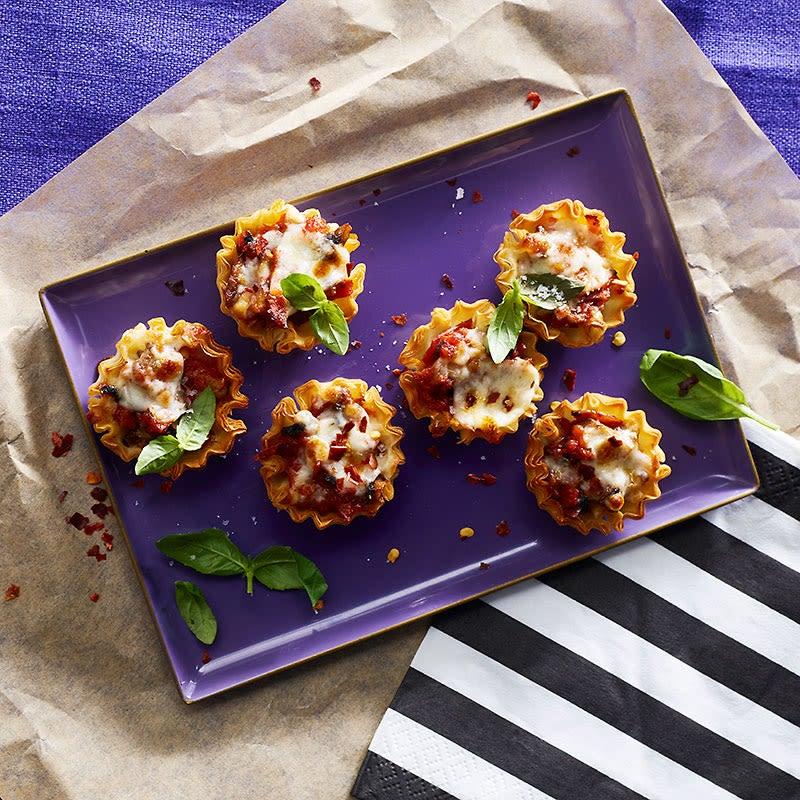 Photo de Bouchées de pizza aux champignons et au pepperoni par WW