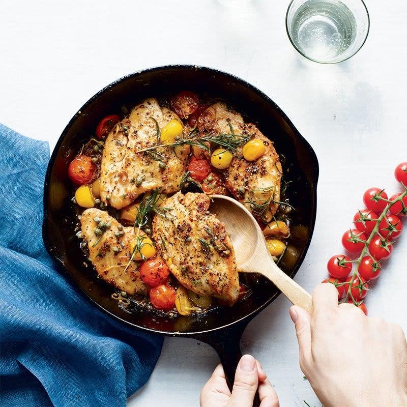 Photo de Poulet avec sauce balsamique aux tomates fraîches par WW