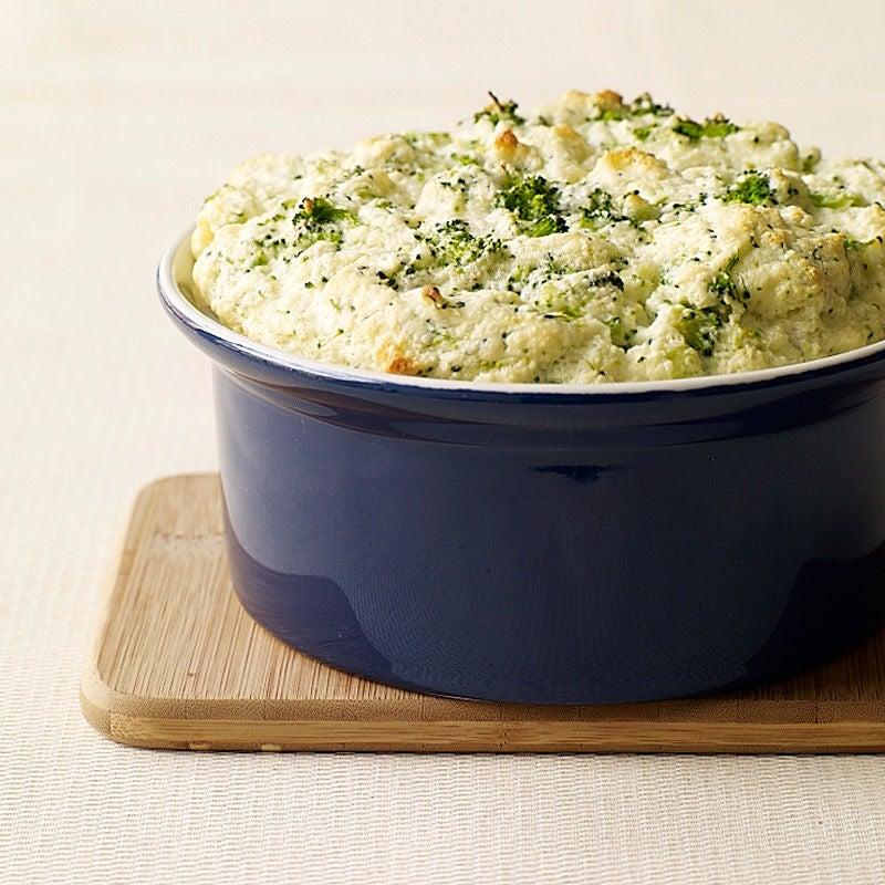 Photo de Soufflé au brocoli et au parmesan par WW