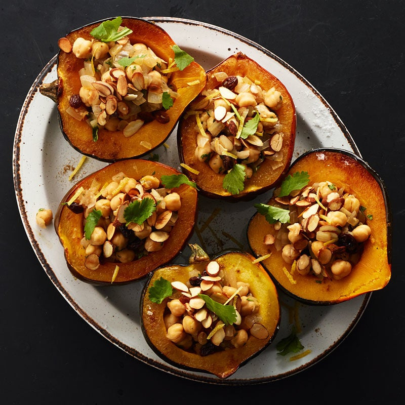 Photo of Moroccan Chickpea-Stuffed Acorn Squash by WW