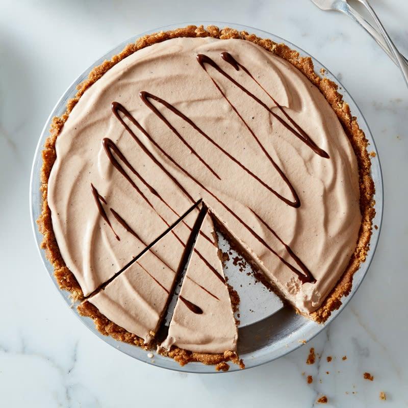 Photo de Tarte congelée aux brisures de chocolat et au beurre d'arachide par WW