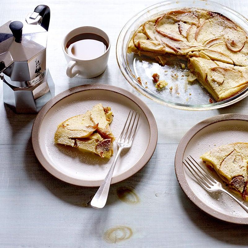 Photo de Gâteaux aux pommes et à la cannelle cuite au four par WW