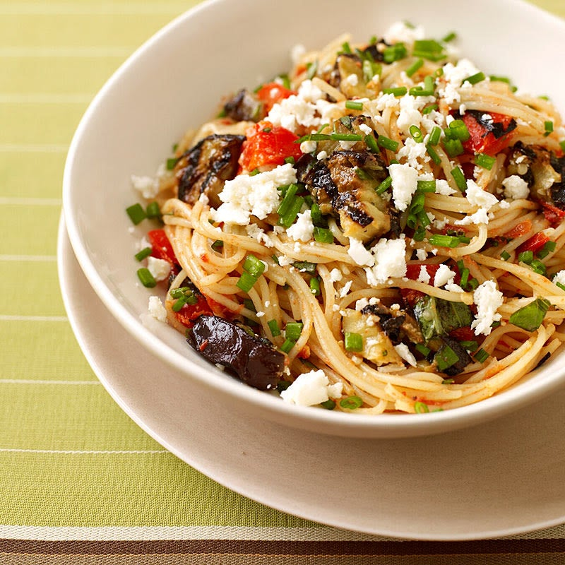Photo of Spaghetti with Eggplant-Tomato Sauce by WW