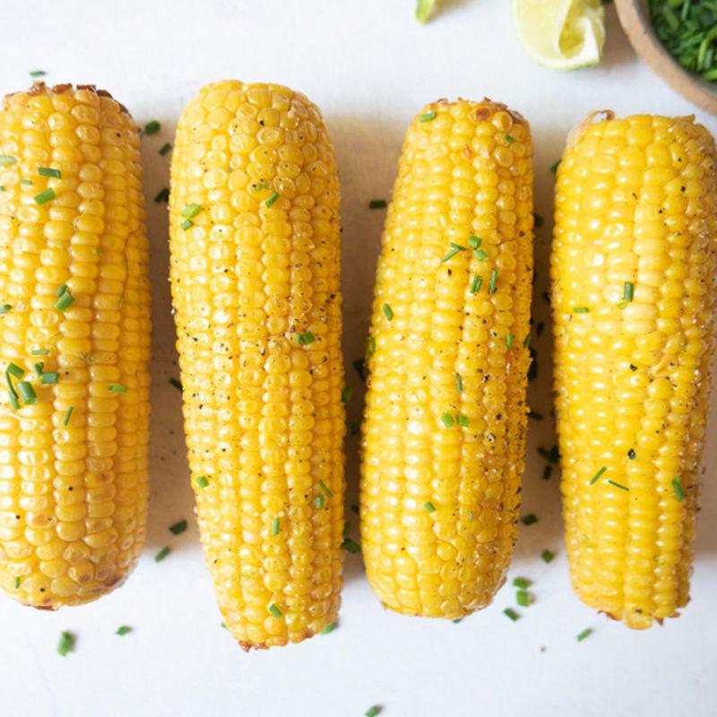 Photo de Épis de maïs «grillés» à la friteuse à convection par WW