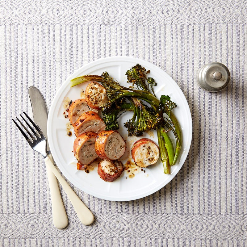 Photo of Porchetta-Spiced Chicken with Roasted Broccolini by WW