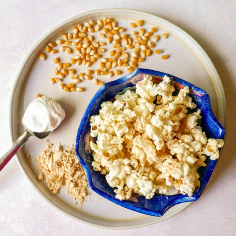 Photo de Maïs soufflé au beurre d'arachide sucré par WW