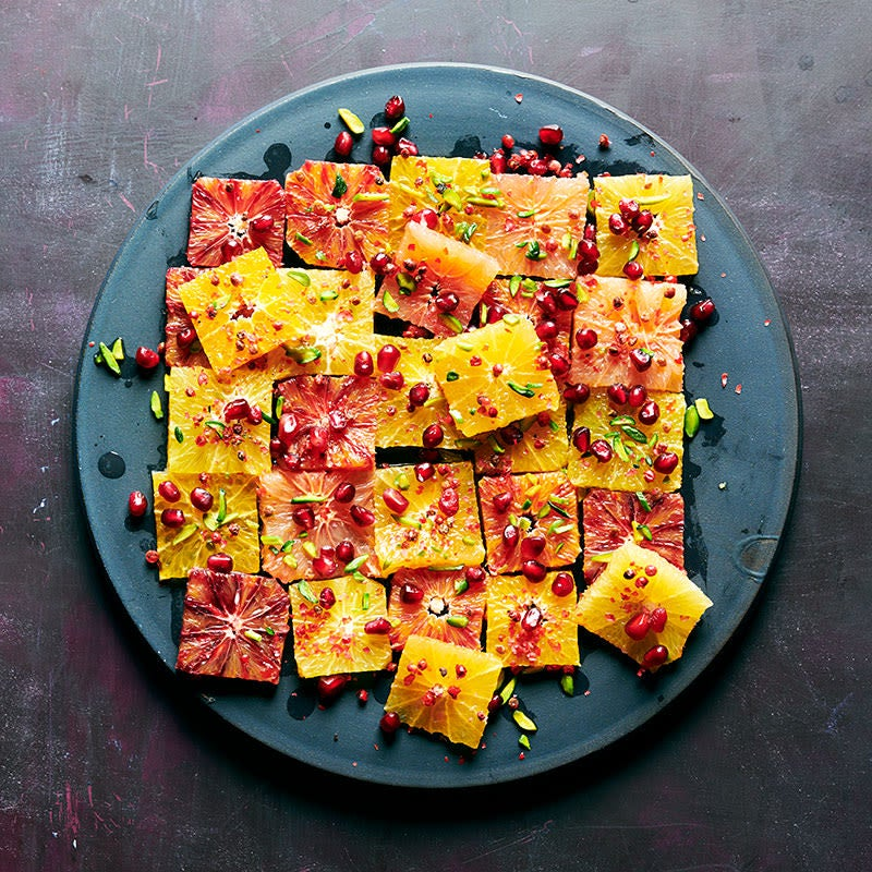 Photo of Citrus Salad with Pomegranate and Pink Peppercorns by WW