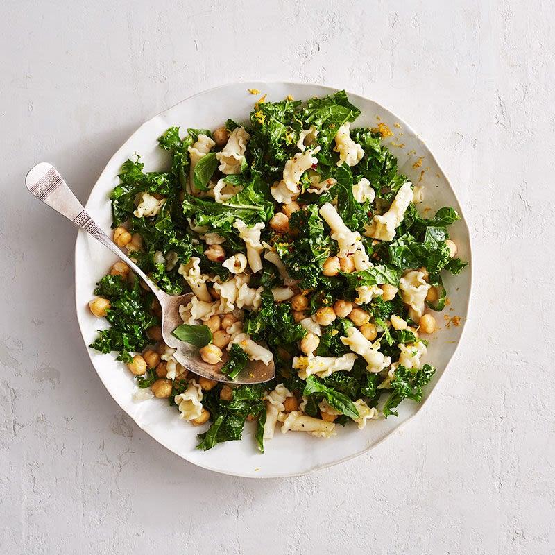 Photo de Salade de pâtes et pois chiches (pasta e ceci) sans mayonnaise par WW