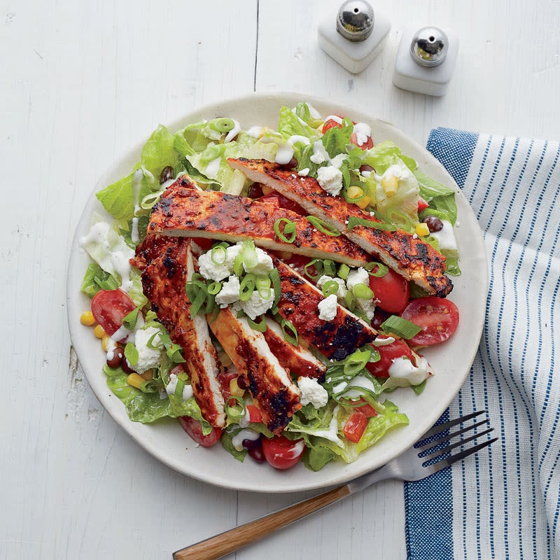 Photo de Salade de poulet ranch-barbecue par WW