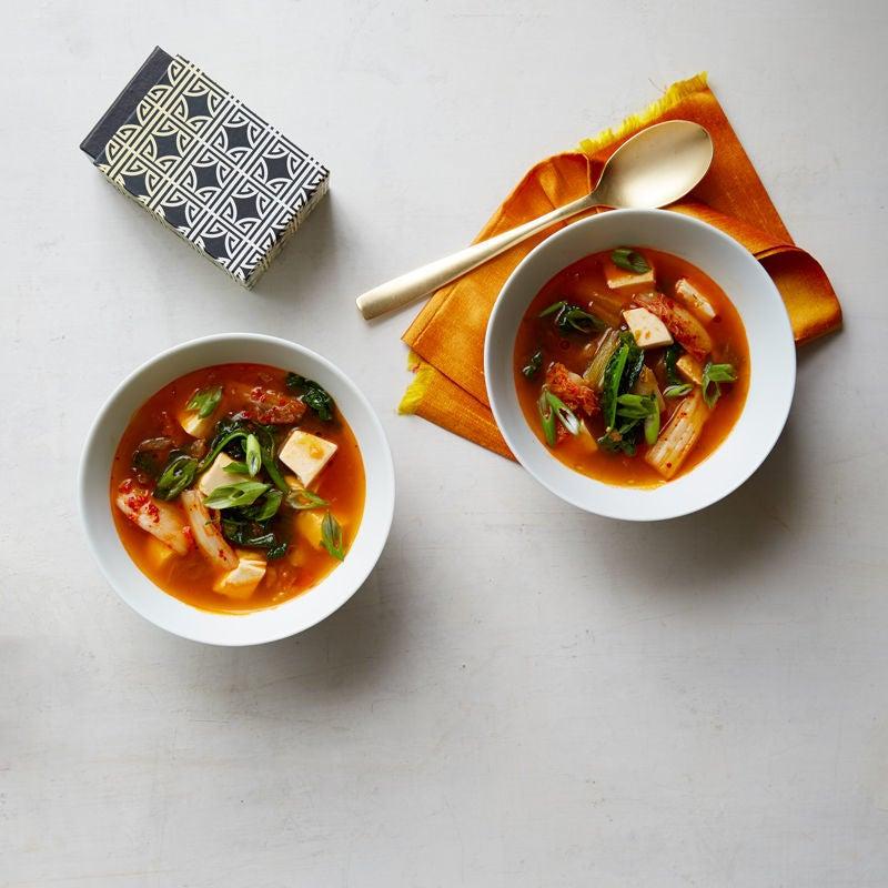 Photo de Soupe au kimchi par WW