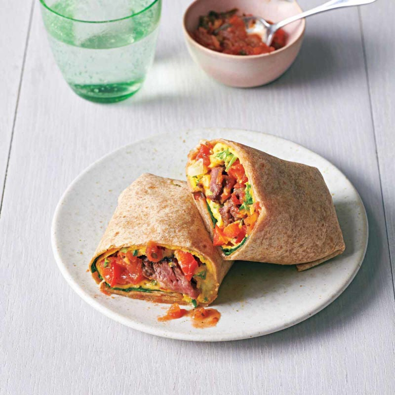 Photo of Steak and egg burritos by WW
