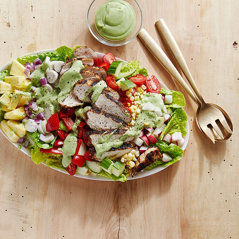 Photo of Chicken Cobb Salad with Creamy Avocado-Lime Dressing by WW