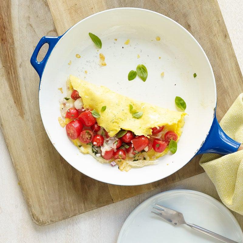 Photo de Omelette italienne aux tomates et à la mozzarella par WW