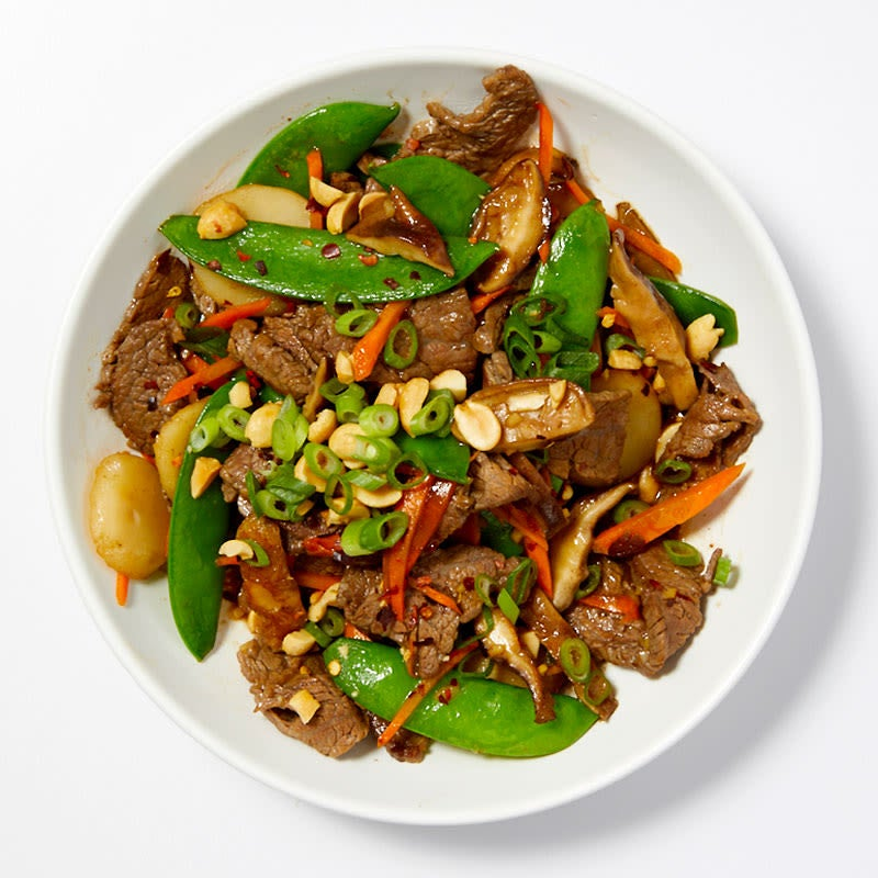 Photo of Beef & vegetable stir-fry by WW