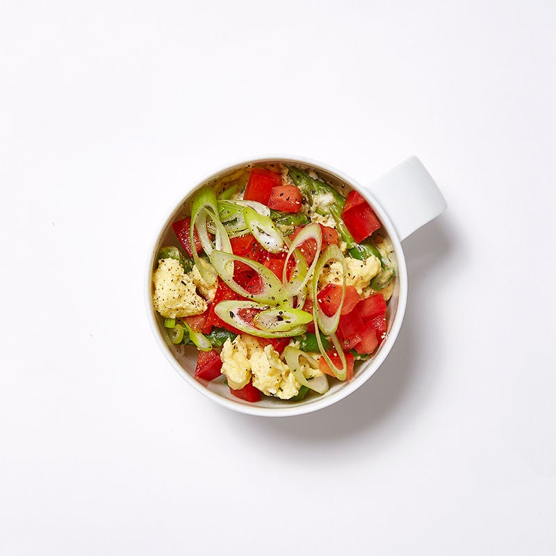 Photo of Spring Veggie and Egg Coffee Cup Scramble by WW